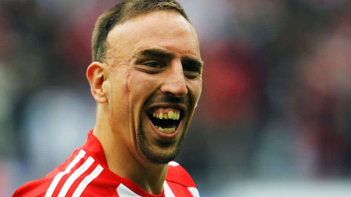 Ribery: Ronaldo will win Ballon D'Or because he good looking : Shitty ...