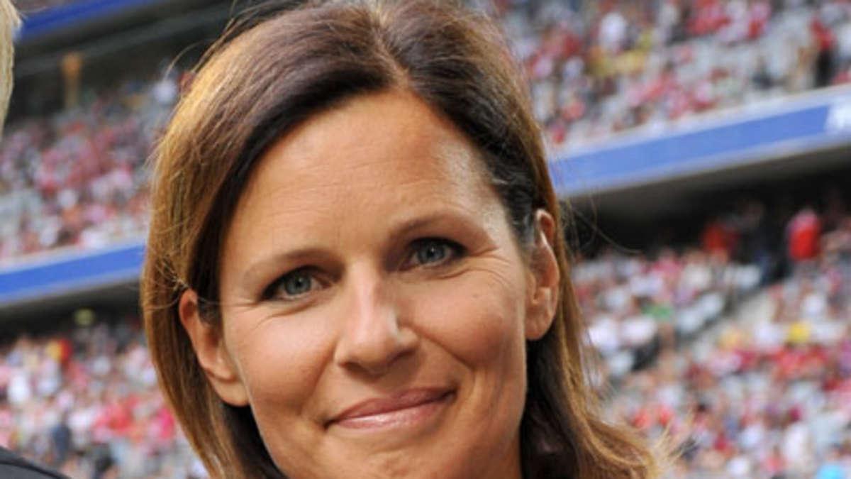 TV-Kritik <b>Kathrin Müller</b>-Hohenstein und Fußball Berichterstattung deutsches <b>...</b> - 510301457-kathrin-mueller-hohenstein-gef