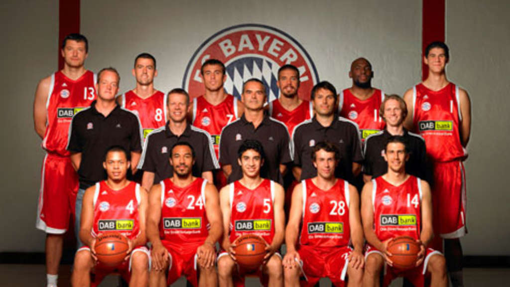 das team des fc bayern m nchen basketball im portrait. Black Bedroom Furniture Sets. Home Design Ideas