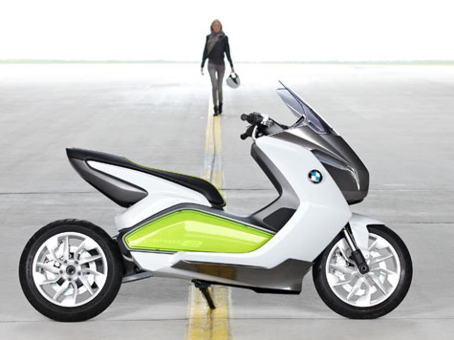 eine vision mit zukunft bmw elektro scooter motorrad. Black Bedroom Furniture Sets. Home Design Ideas