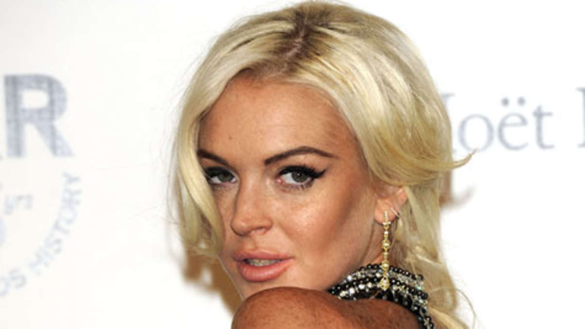 Lindsay Lohan nackt Nacktbilder & Videos, Sextape
