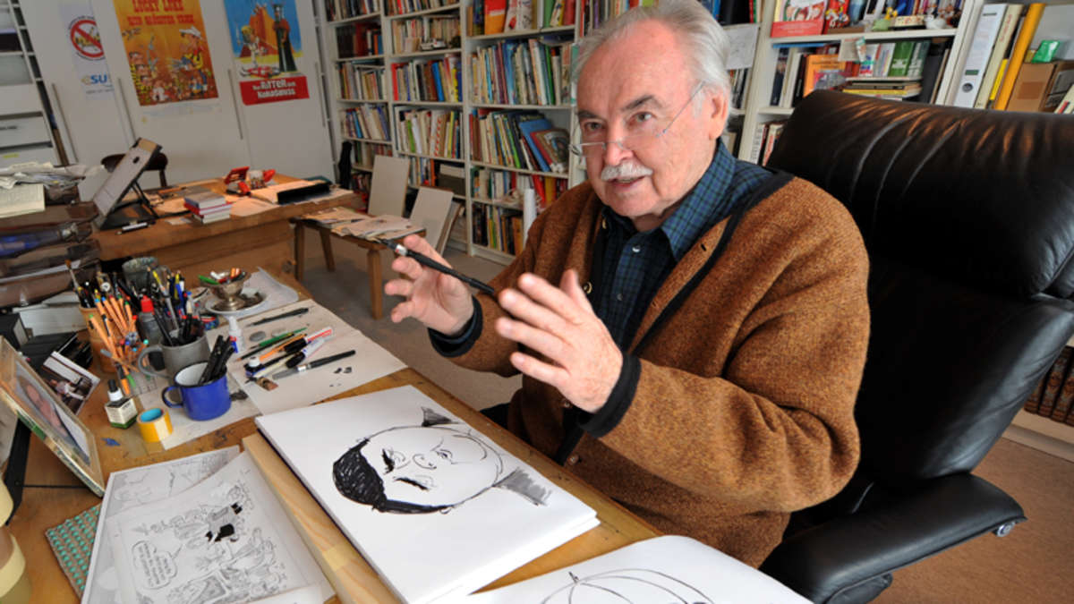 Karikaturist hanitzsch stadtmuseum zeigt karikaturen aus for Dieter hanitzsch