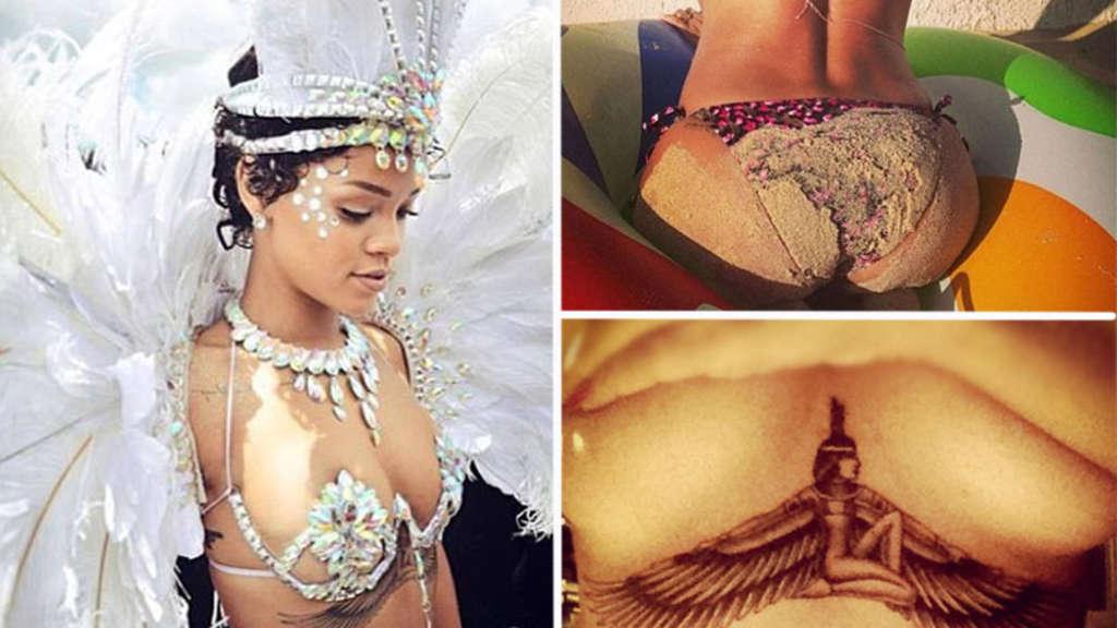 Rihanna nackt unzensierte Bilder