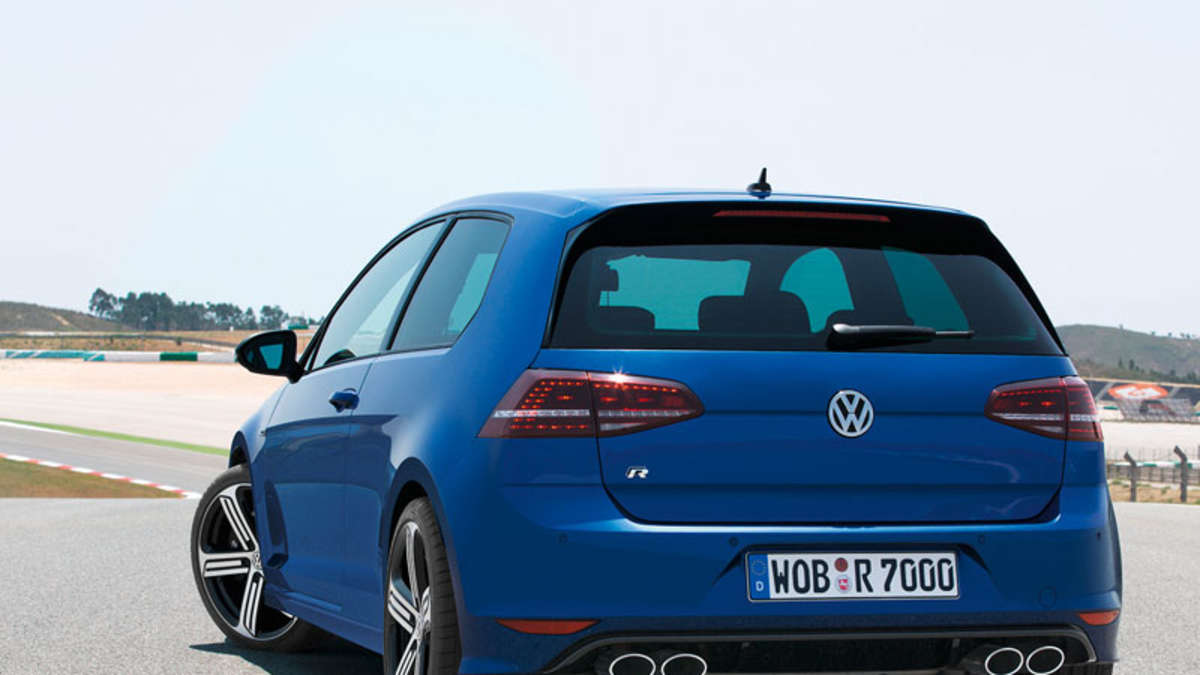 vw golf r mit 300 ps feiert auf der iaa 2013 premiere auto. Black Bedroom Furniture Sets. Home Design Ideas