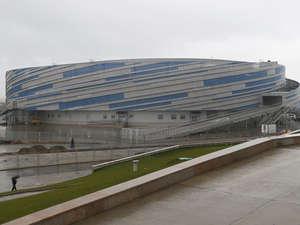 Heißt die eishockey arena in sotschi das russische wort für puck