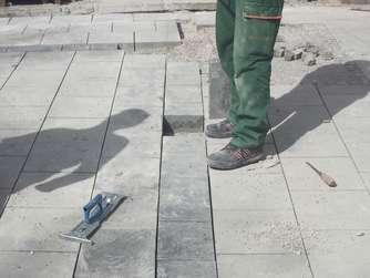 Sind die neuen Pflastersteine in der Fußgängerzone eine