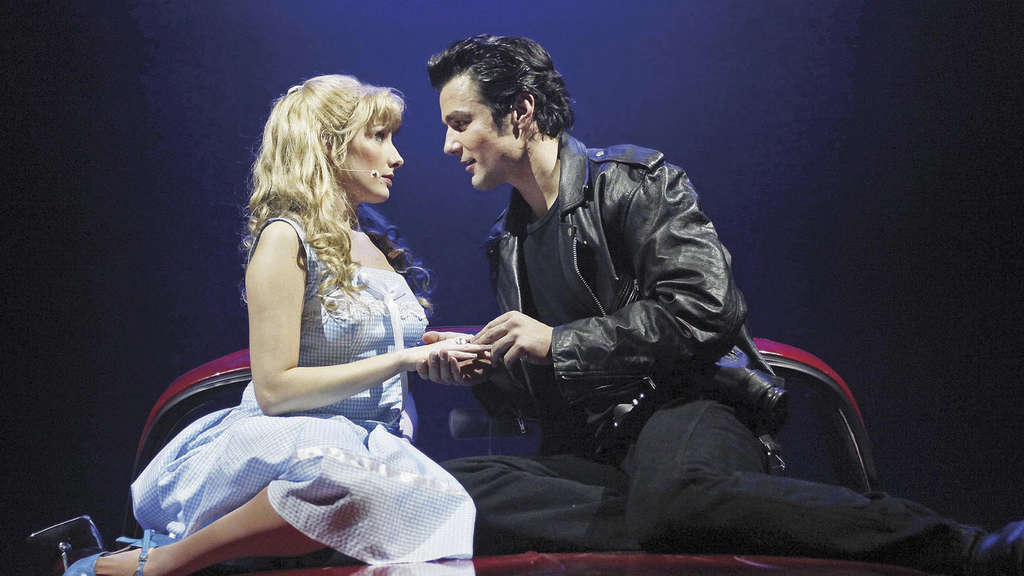 Sandy Danny Grease Deutsches Theater Musical