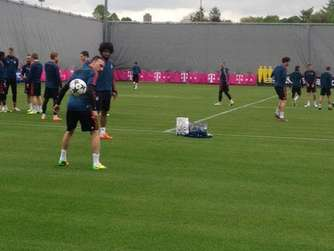 FC Bayern Real Madrid Abschlusstraining