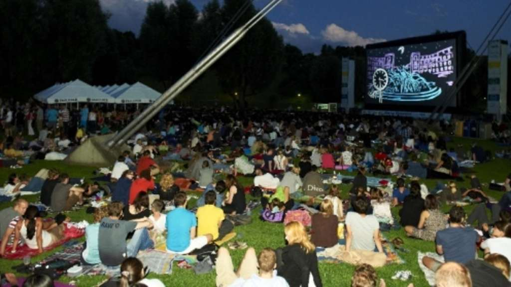 Open-Air-Kino am Olympiasee