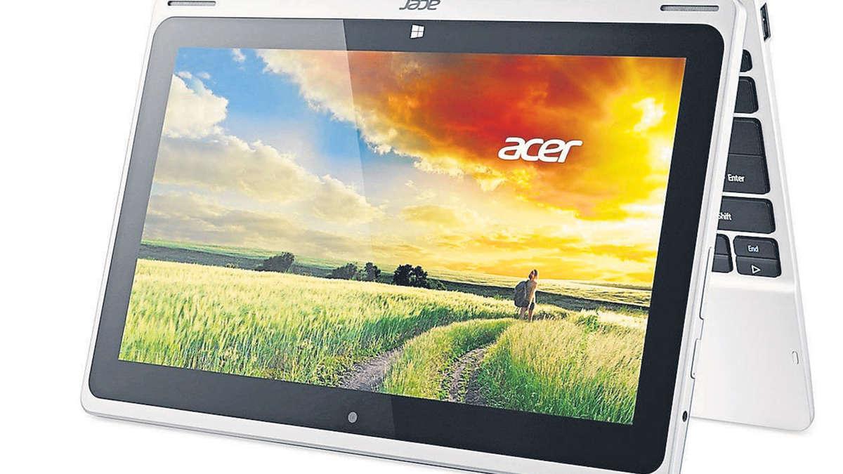 aspire switch 10 berzeugendes kombi ger t aus tablet und laptop multimedia. Black Bedroom Furniture Sets. Home Design Ideas