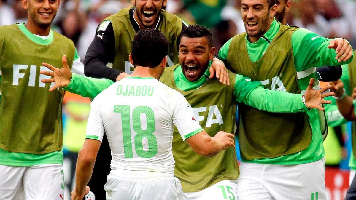 fussball algerien heute