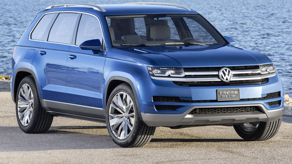 VW Studie CrossBlue