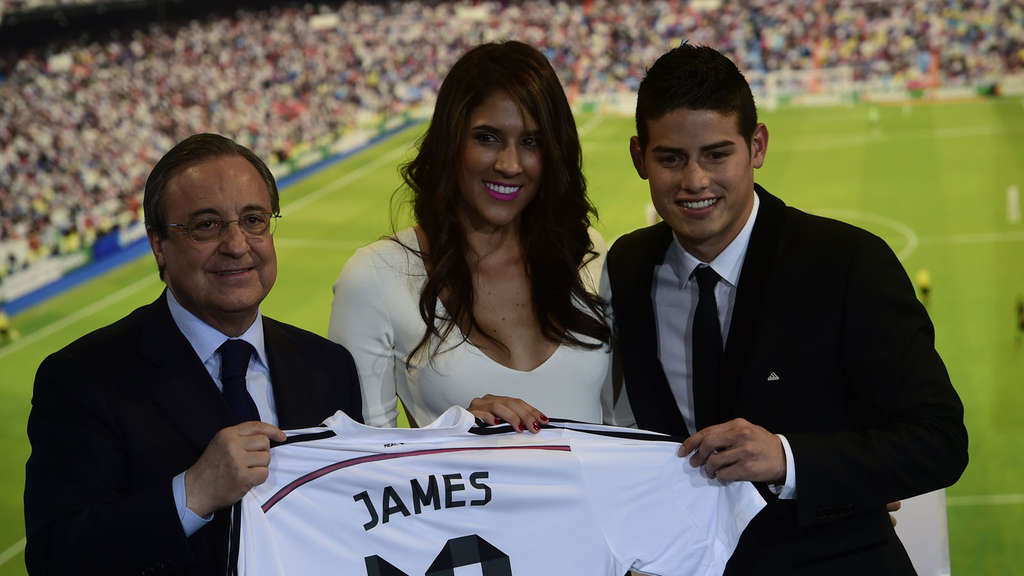 James Rodriguez Real Madrid