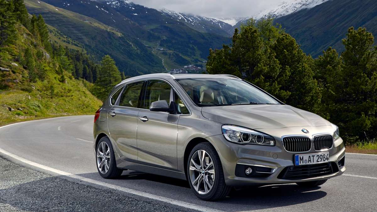 bmw 2er active tourer der erste bmw mit frontantrieb auto. Black Bedroom Furniture Sets. Home Design Ideas