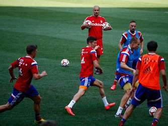 FC Bayern, USA, Training