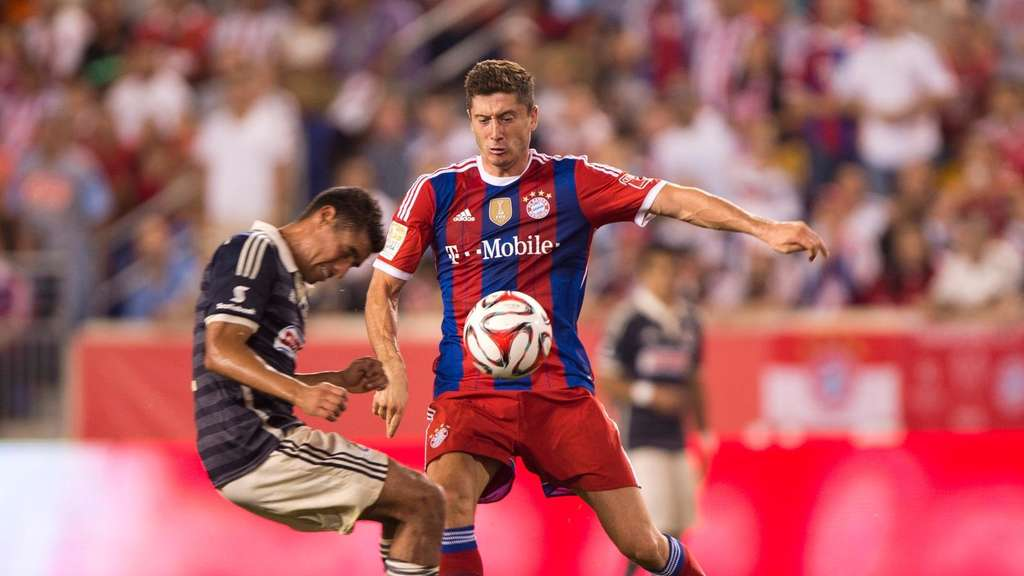 Robert Lewandowski, USA-Tour