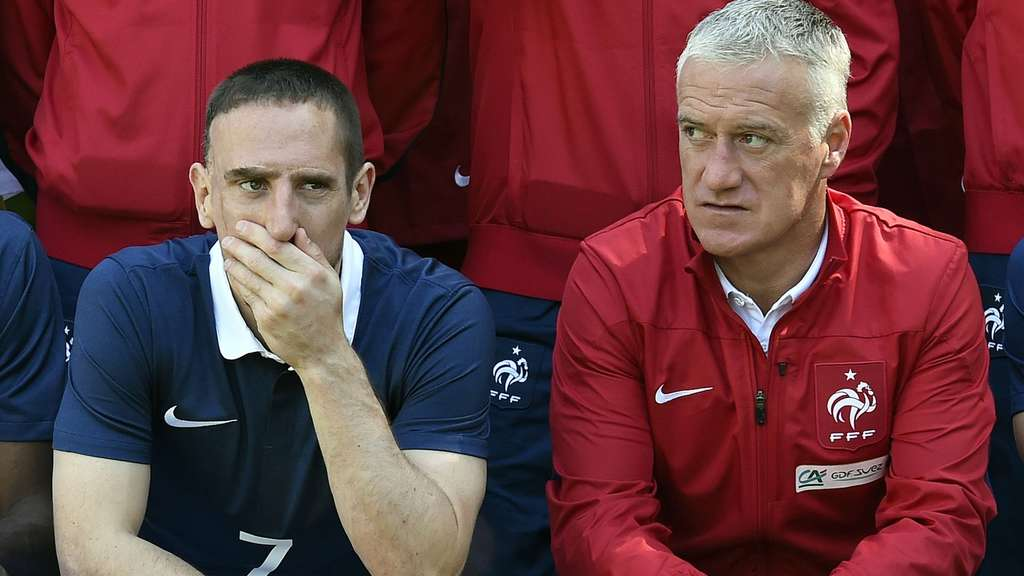 Didier Deschamps, Franck Ribéry