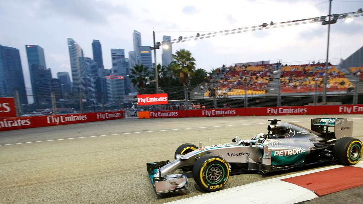 Formel 1 nico rosberg singapur