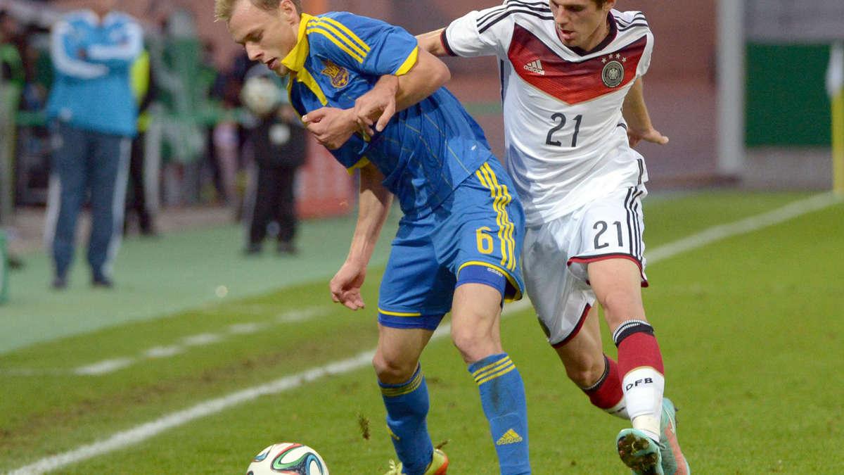 ukraine deutschland fußball