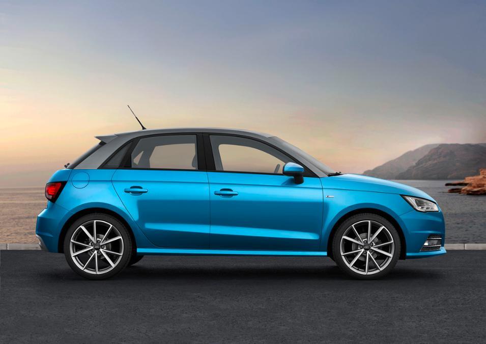 Audi A1 Sportback: Fotos und Details vom Facelift 2014 für 2015