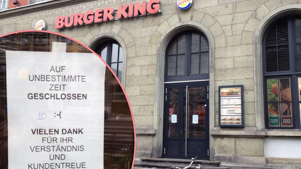 burger king am hauptbahnhof geschlossen stadt. Black Bedroom Furniture Sets. Home Design Ideas