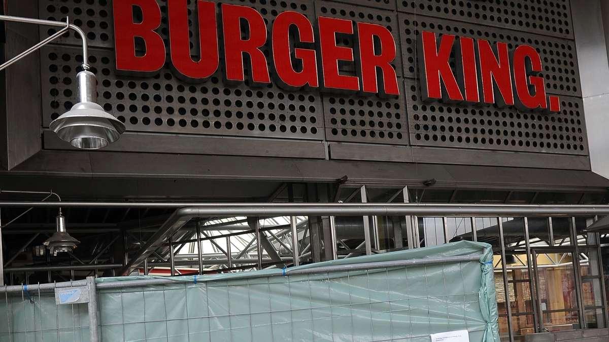 am hauptbahnhof mann will in gesperrten burger king ludwigsvorstadt isarvorstadt. Black Bedroom Furniture Sets. Home Design Ideas