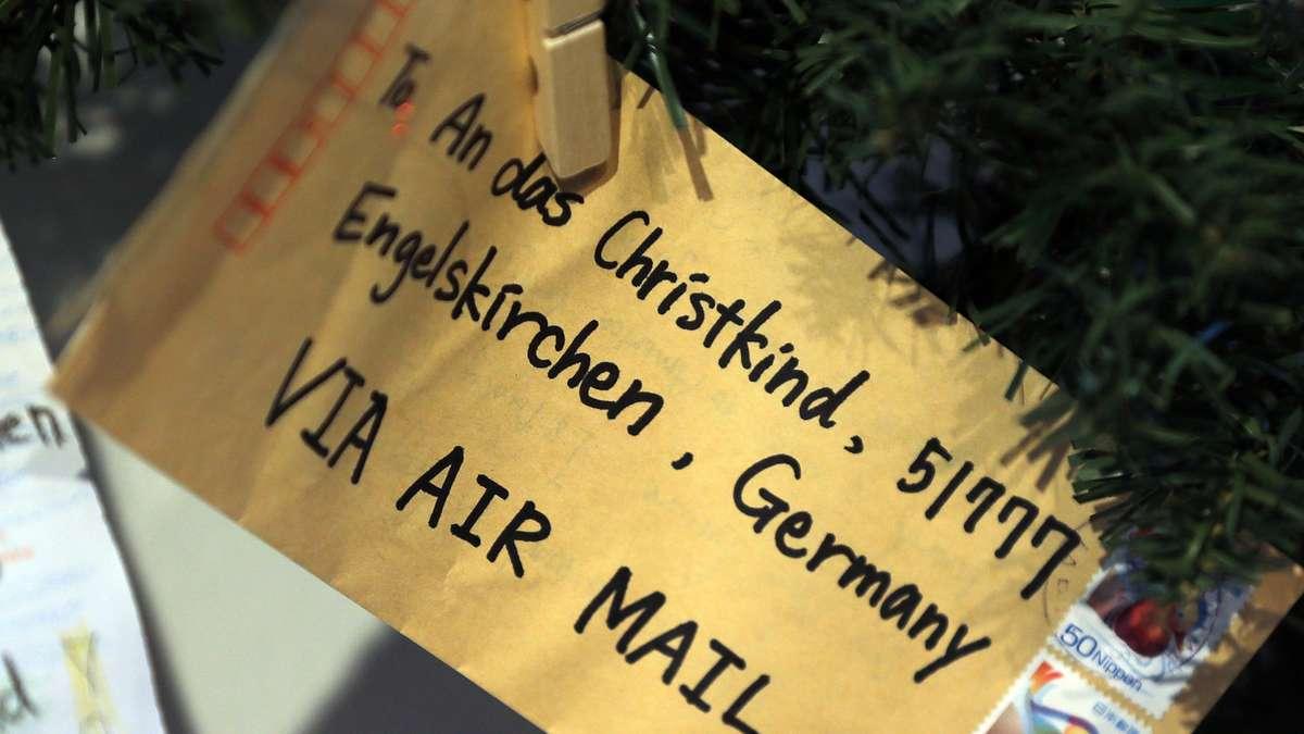 Bilder Für Briefe : Post für das christkind hunderttausend briefe in