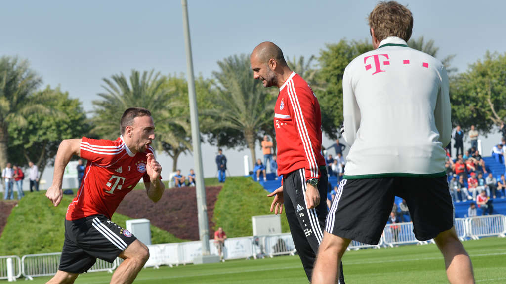 FC Bayern Winter Trainingslager