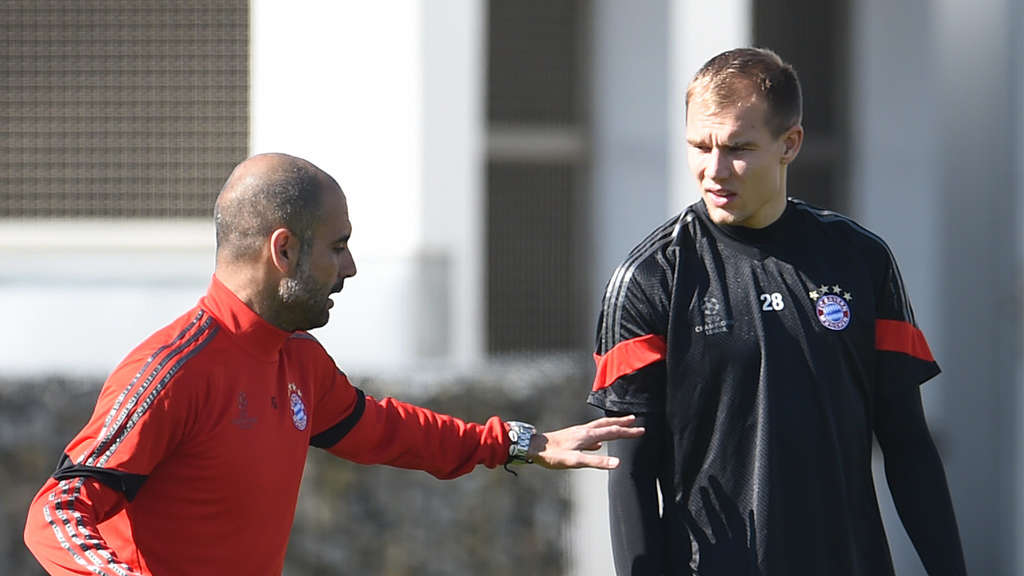 Image result for Holger Badstuber and pep