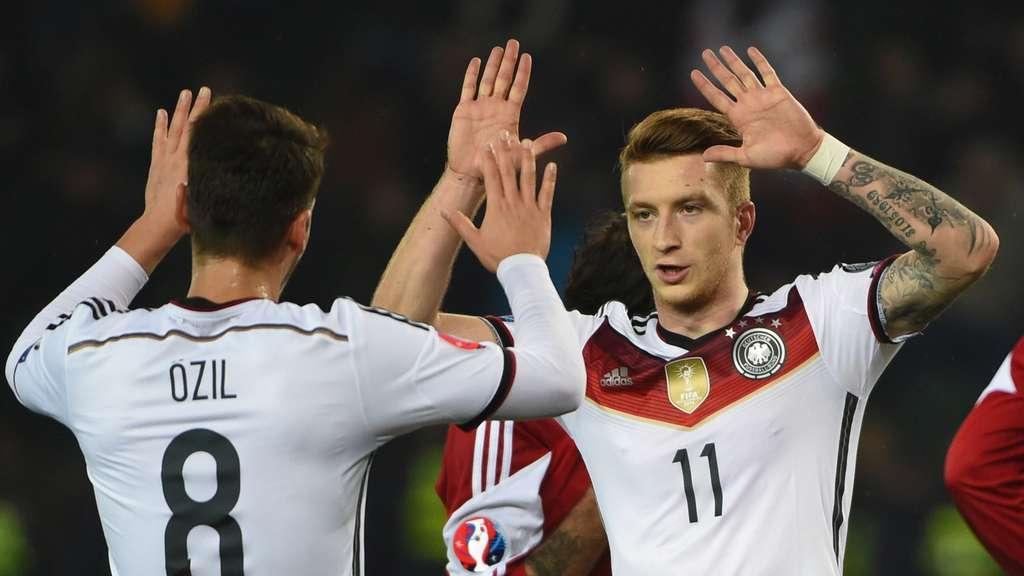 fußball deutschland gegen georgien