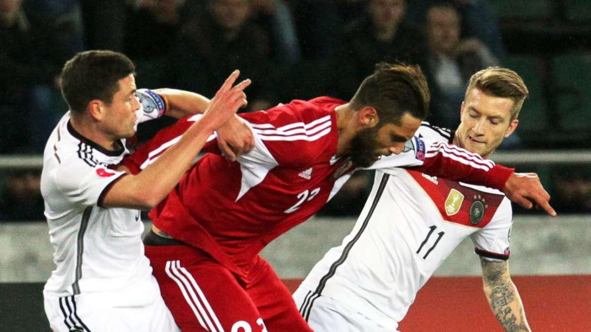 Deutschland Georgien Em Qualifikation Saison 15 Spieltag