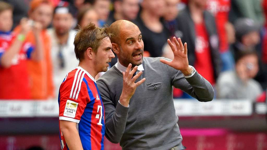 Pep Guardiola, Philipp Lahm