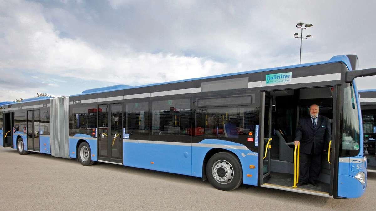 Mvg neue gelenkbusse das sind die vorteile stadt for Tz stellenanzeigen munchen