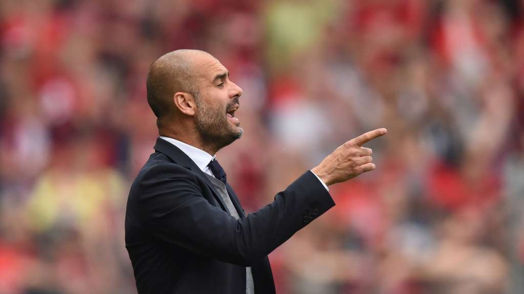 Pep Guardiola darf nach Berlin