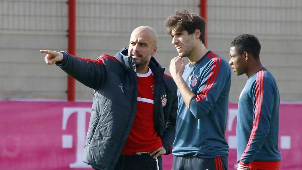 FC Bayern, Pep Guardiola, David Alaba, Javi Martinez, FC Bayern Training