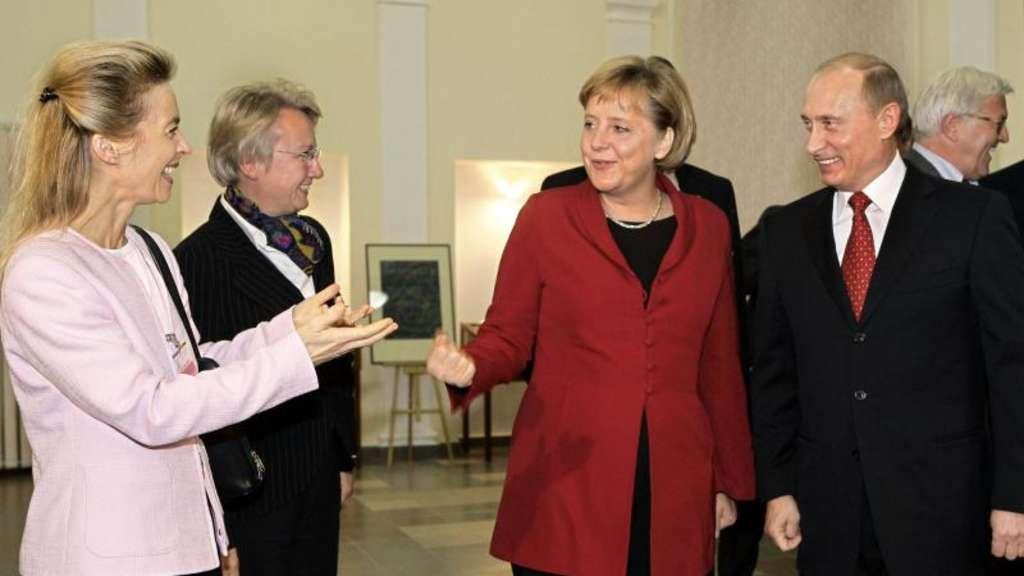 Als von der Leyen den russischen Präsidenten kennen lernte, sprach er ...