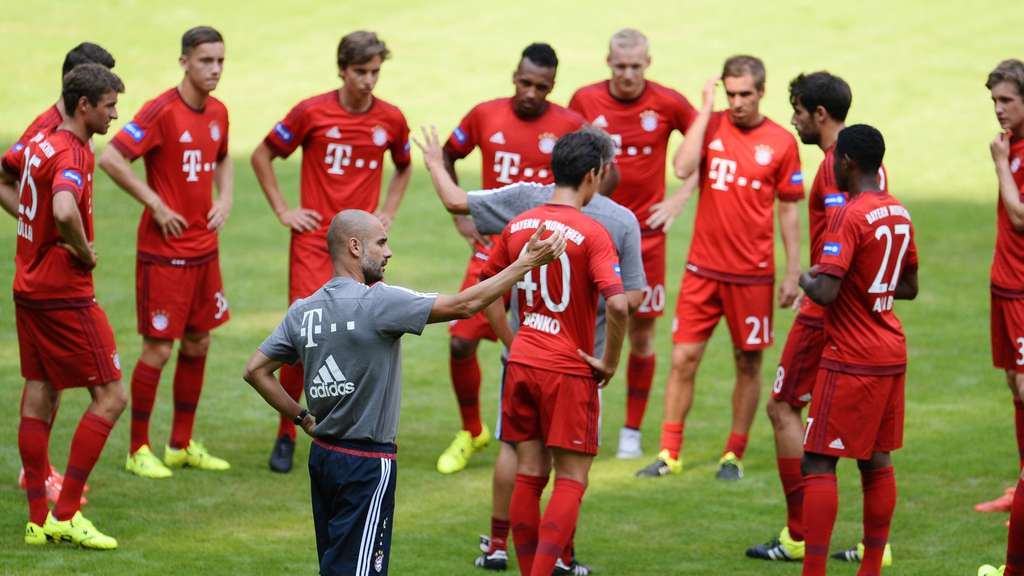FC Bayern China Training