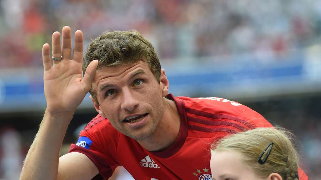 FC Bayern Manchester United Thomas Müller