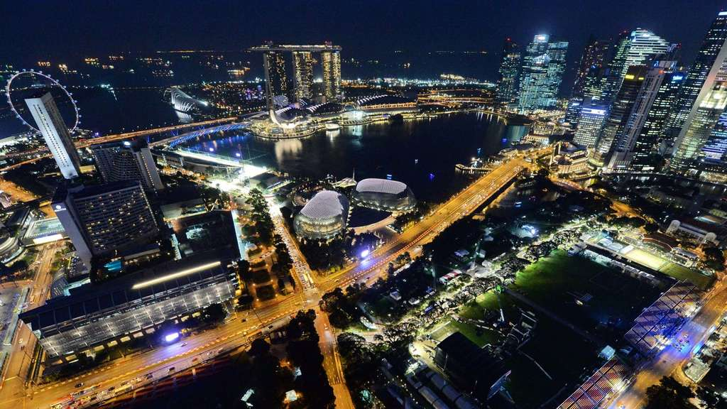 Formel 1 Grand Prix Singapur TV Guide
