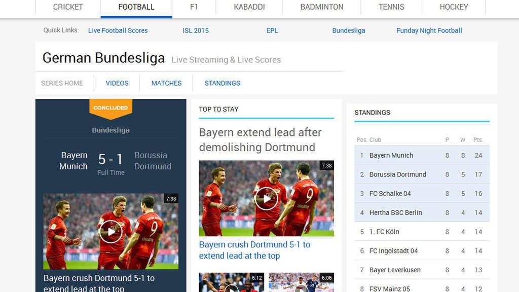 Bundesliga kostenlos im live stream in hd sehen auf for Bundesliga live stream