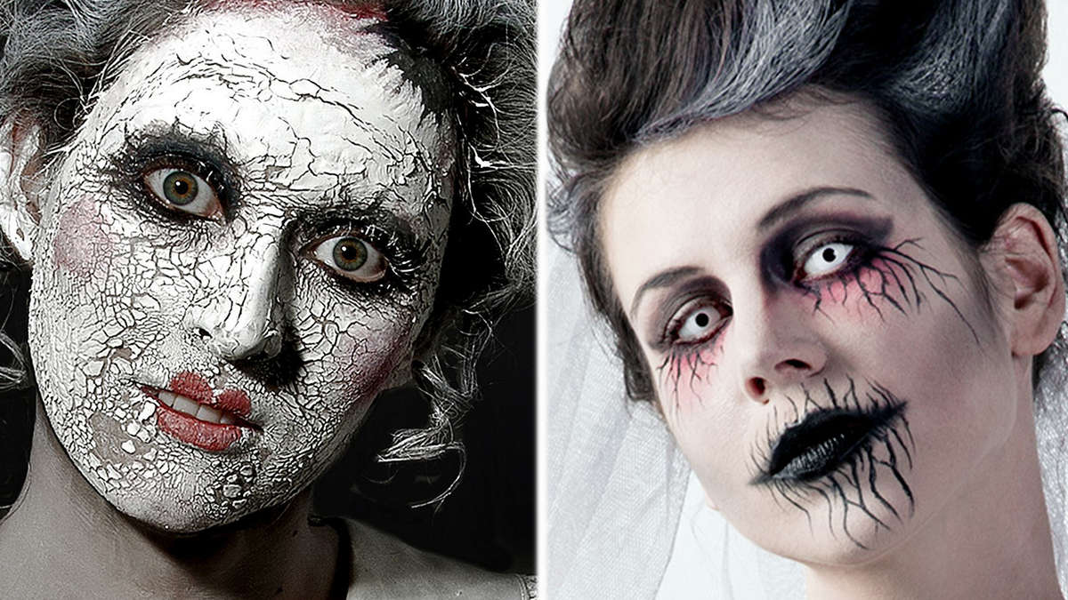 perfekte schminke zu halloween profi tipps der maskenbildnerin welt. Black Bedroom Furniture Sets. Home Design Ideas