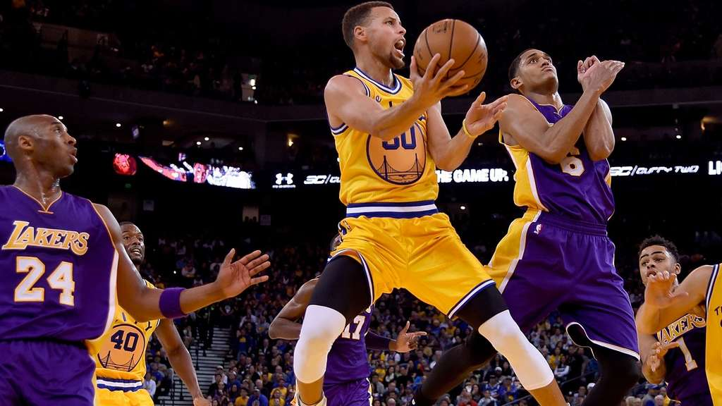 Stephen Curry, NBA, Golden State Warriors, Los Angeles Lakers