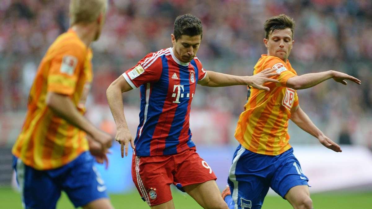 Fc bayern m nchen gegen hertha bsc berlin bundesliga live for Bundesliga live stream