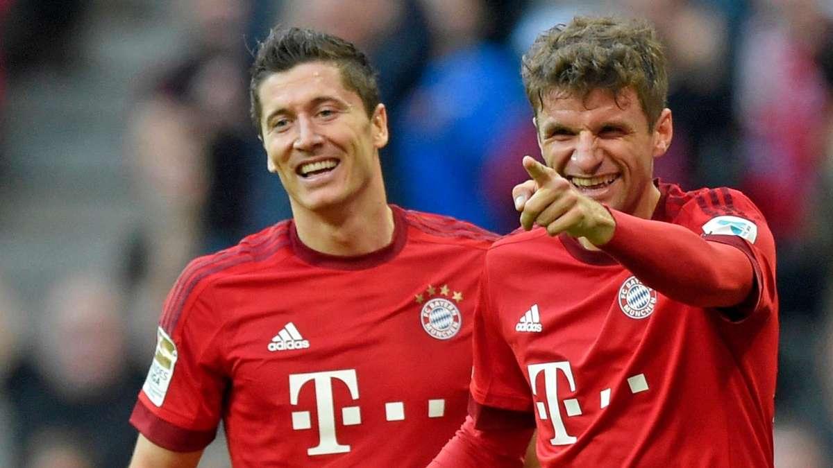 Champions League Robert Lewandowski Jagt In Der