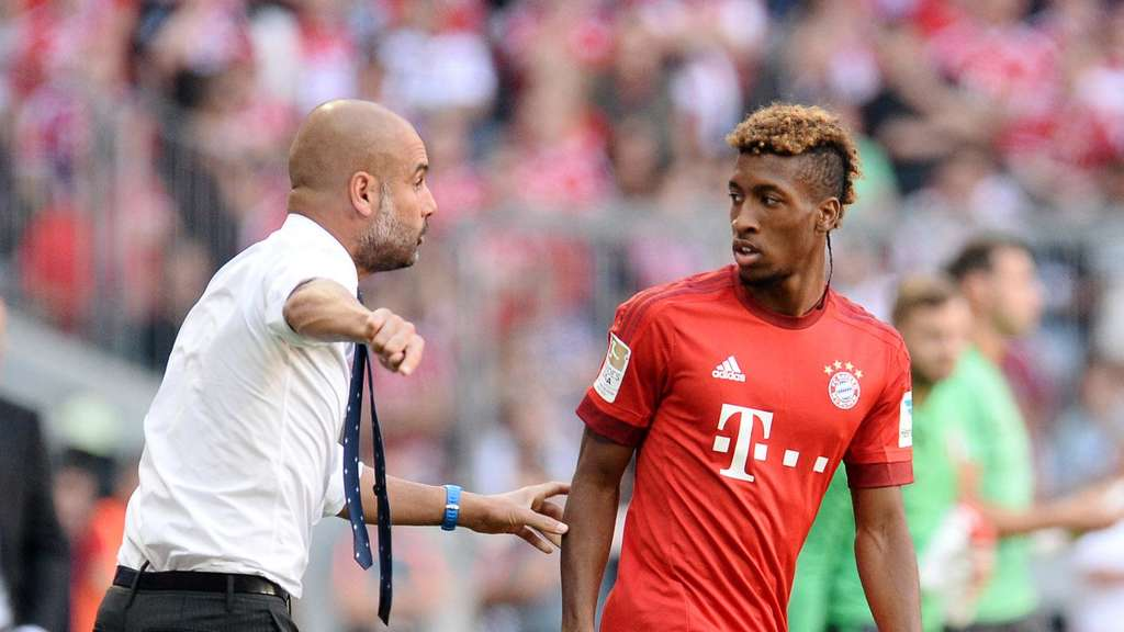 Pep Guardiola Kingsley Coman