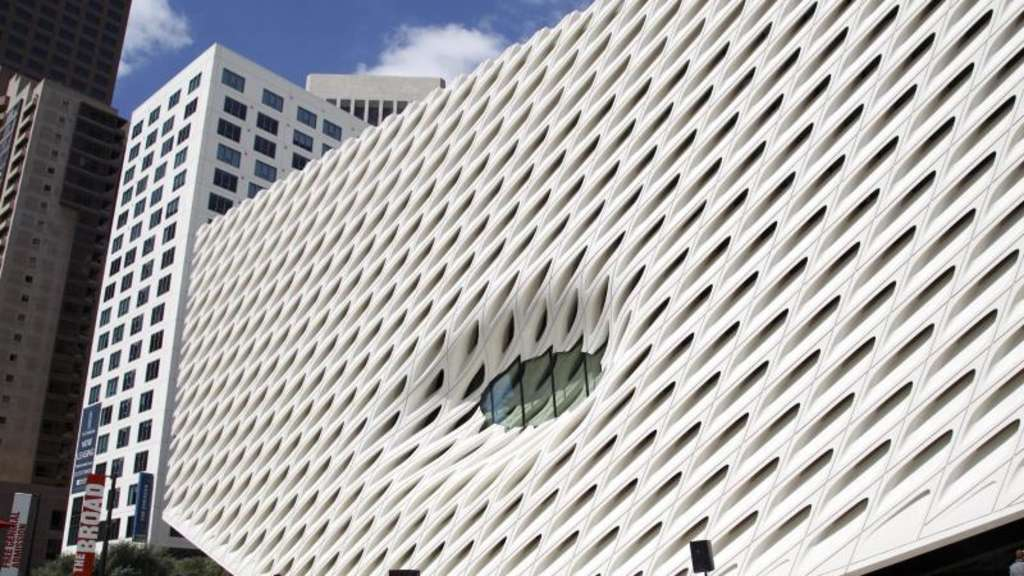 Das Museum The Broad in Downtown Los Angeles. Foto: Eugene Garcia