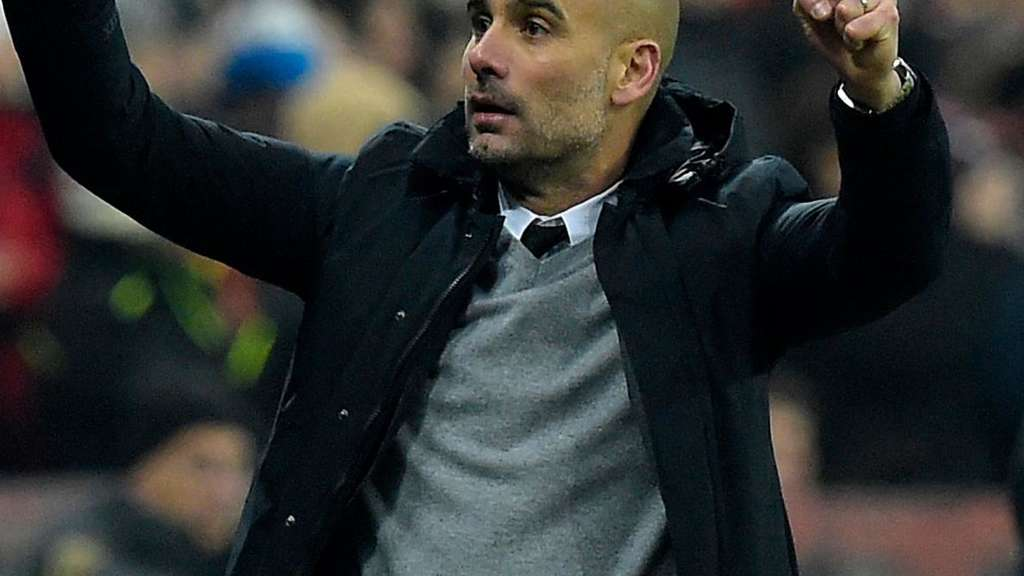 Champions League FC Bayern Pep Guardiola