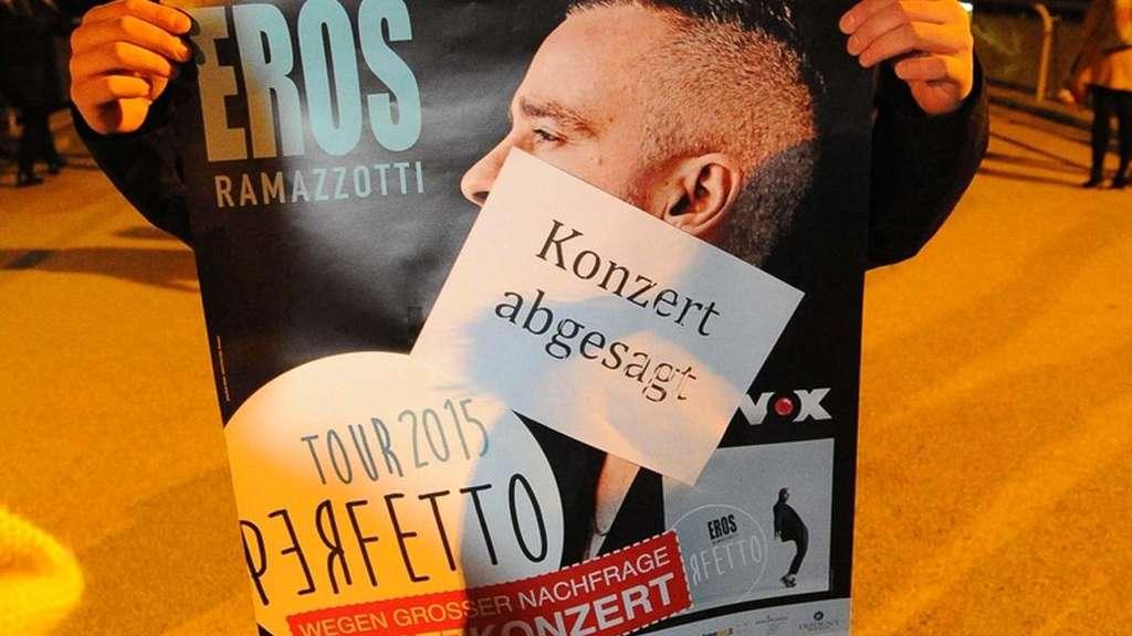 Eros Ramazzotti im Konzert