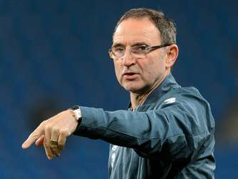 Nationaltrainer Irlands: Martin O'Neill.