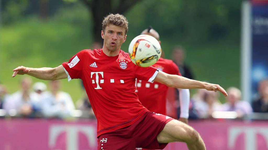 Thomas Müller im Training.